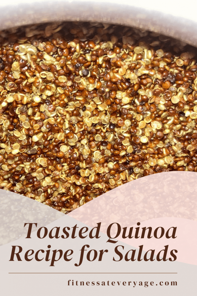 Toasted Quinoa Recipe for Salads