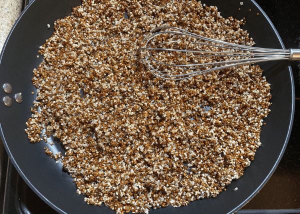 Toasted Quinoa Step 4