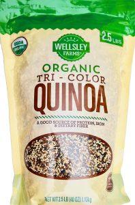 Wellsley Farms Organic Tri-Color Quinoa